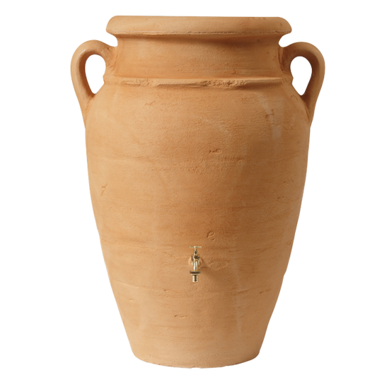 Amphora wall sandstone rainwater butt stylish